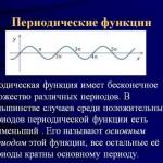 Периодическая функция