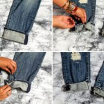 Как подворачивать джинсы