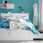 Кровати с выдвижными ящиками для хранения белья купить в Украине в интернет-магазине