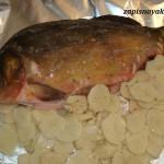 Рыба в фольге в микроволновке