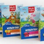 Витамины для детей Мульти-табс