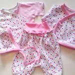 Выкройка распашонки для новорожденных