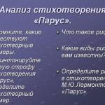 Законы стихосложения. Трехсложные размеры стиха. 6–й класс