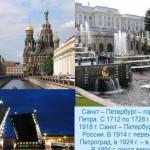 Санкт-Петербург в датах и цифрах