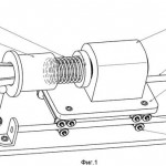 Механизм подачи и зажима прутка